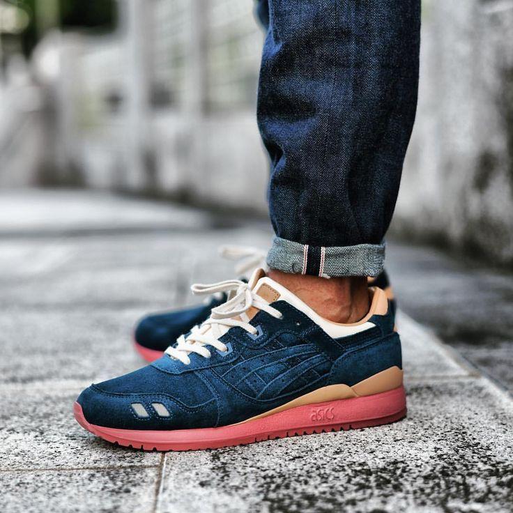 newest 1c537 895e0 J.Crew x Packer x Asics Gel Lyte III | My SneakerS | Schuhe ...