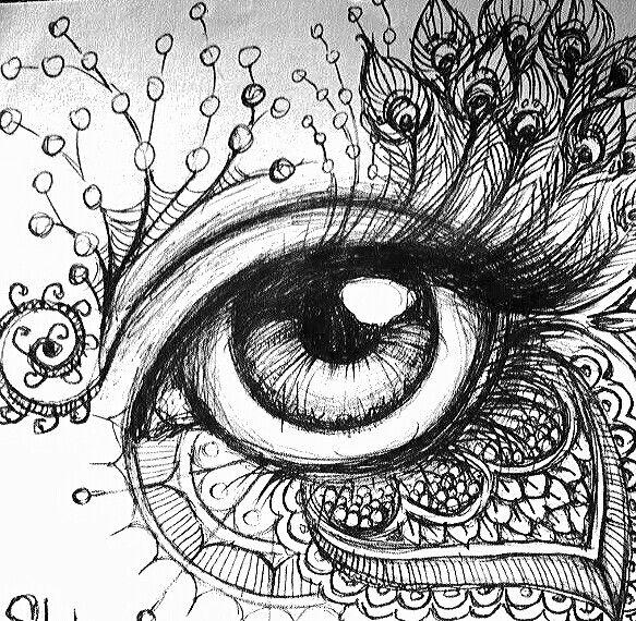 Eyecandy Eyeball Eyelashes Illustrate Dibujos Abstractos Mejor Dibujo Arte Dibujos En Lapiz