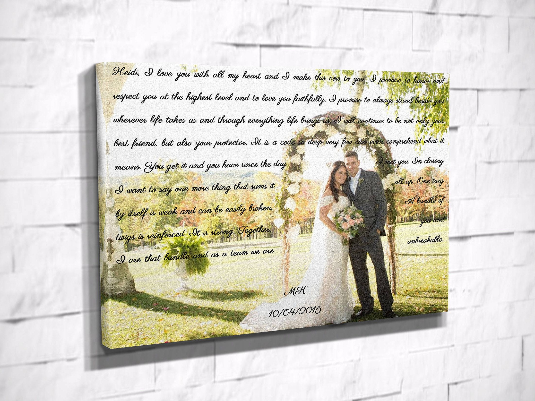 Wedding decorations quotes  Now trending Personalized wedding song lyric art print