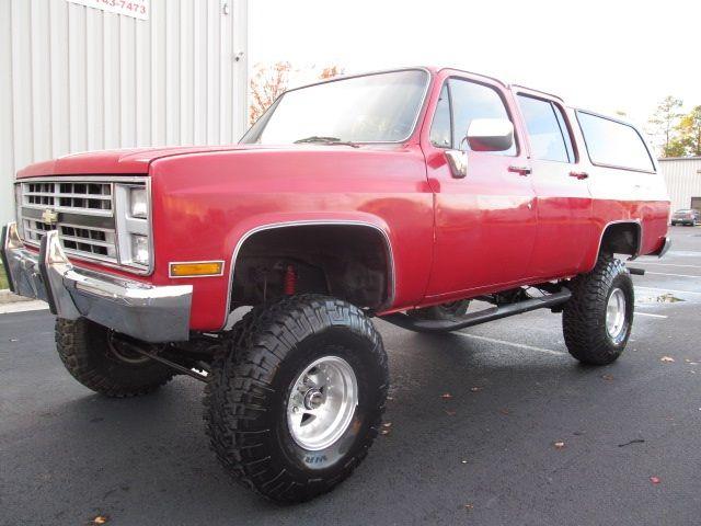 1985 Chevrolet Suburban K10 Photo 1 Richmond Va 23237 Chevrolet Suburban Chevy Suburban Monster Trucks