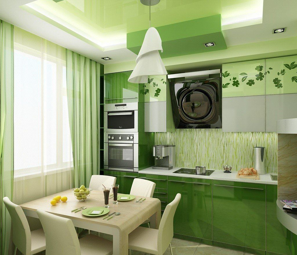 Best Ways To Redecorate With Green: Интерьер