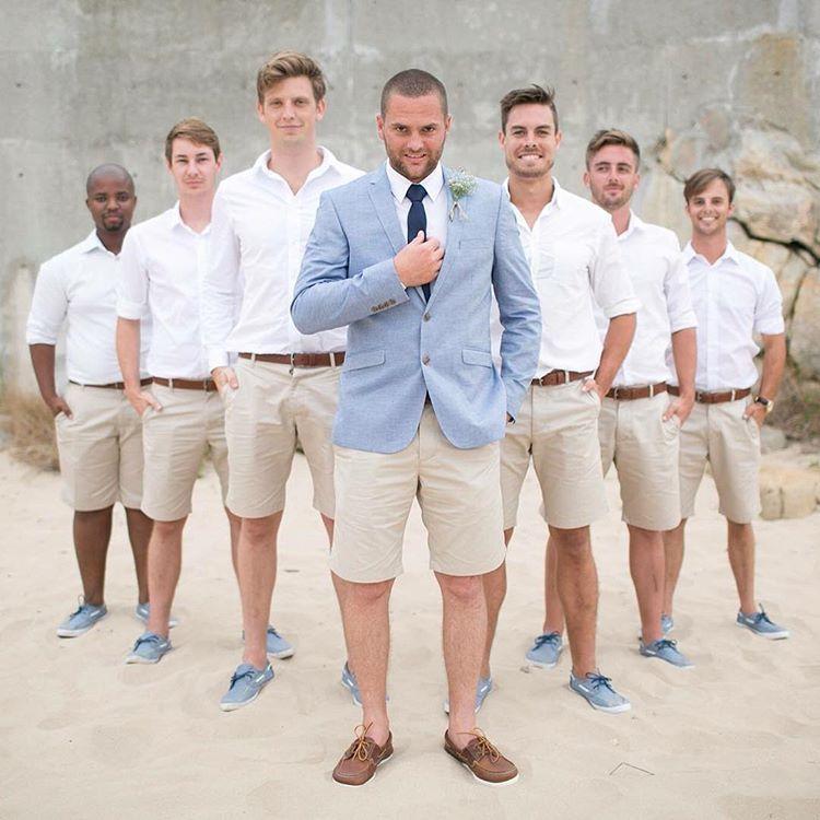 Pin By Megan Matlock On Grooms In Shorts Mens Beach Wedding Attire Beach Wedding Groom Beach Wedding Men