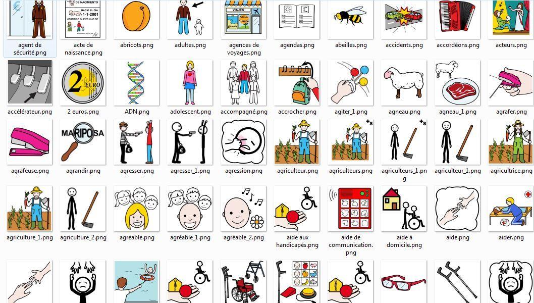 ressources pour l 39 cole les excellents pictogrammes du site arasaac autisme pictogramme. Black Bedroom Furniture Sets. Home Design Ideas