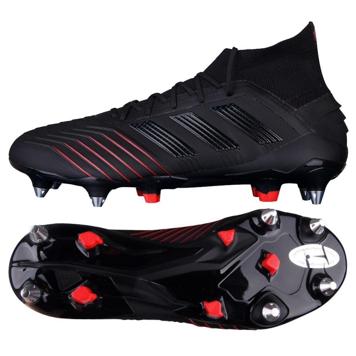 Football Boots Adidas Predator 19 1 Sg M G26979 Black Black Football Boots Adidas Predator Football Shoes
