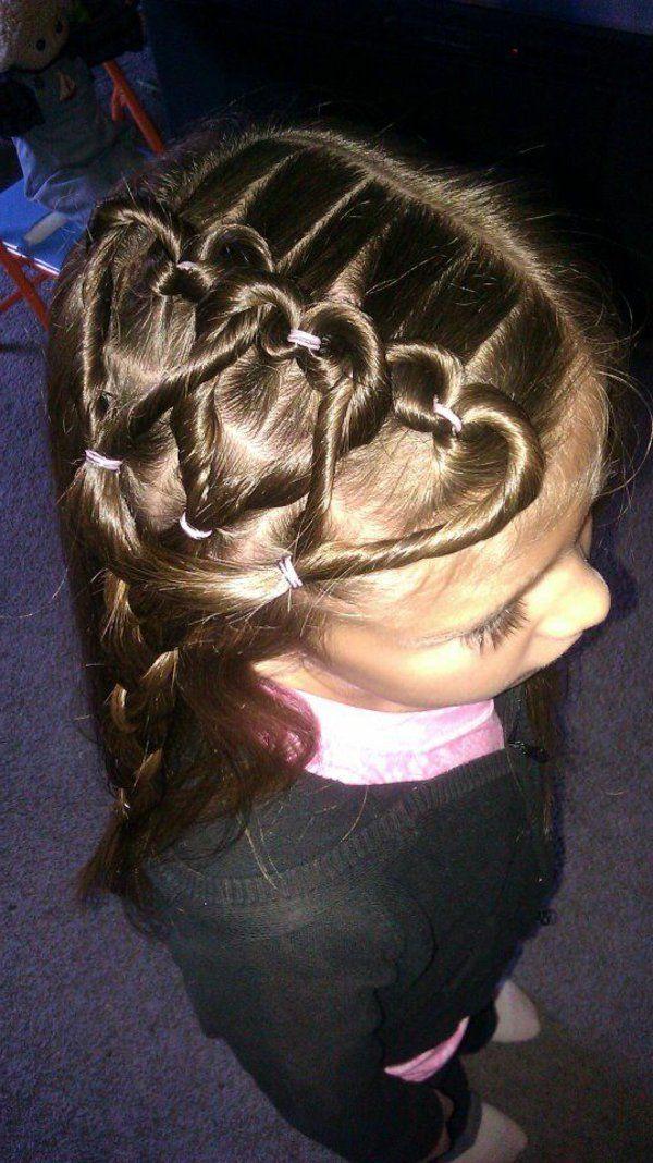 45 Wunderschone Frisuren Fur Kleine Madchen Hair Styles Little Girl Hairstyles Braids For Long Hair