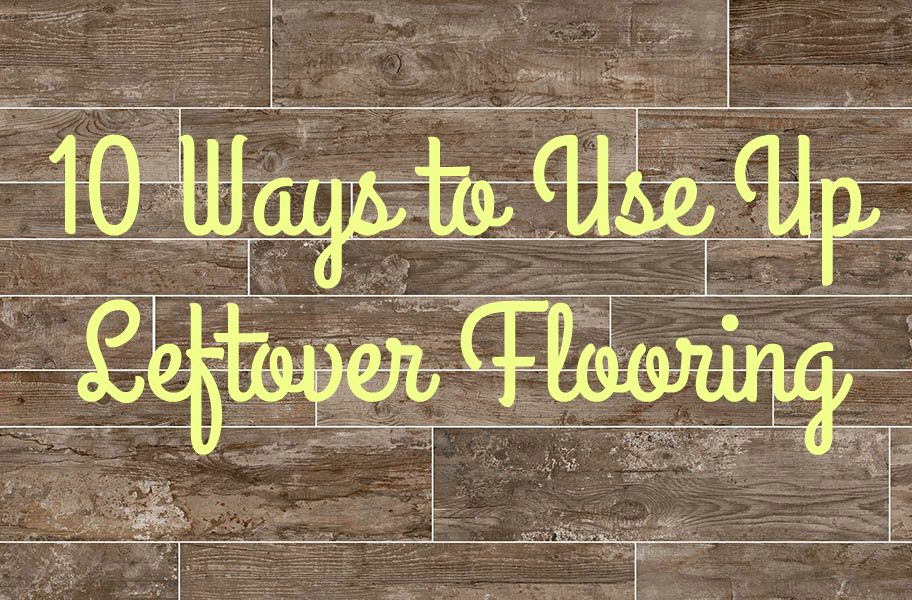 10 Ways To Use Up Leftover Flooring Laminate Flooring Laminate