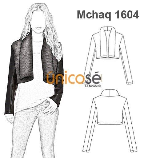 Patrones de chaquetas de mujer