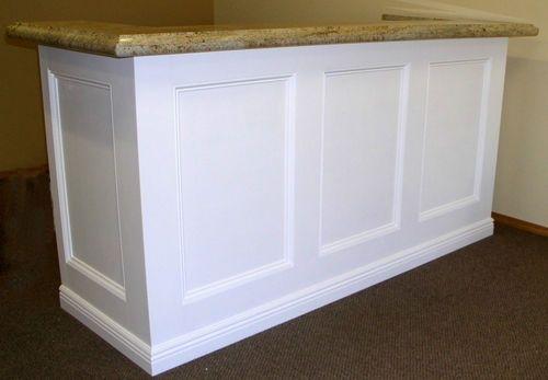 diy reception desk reception desk turn our existing into something updated - Reception Desks
