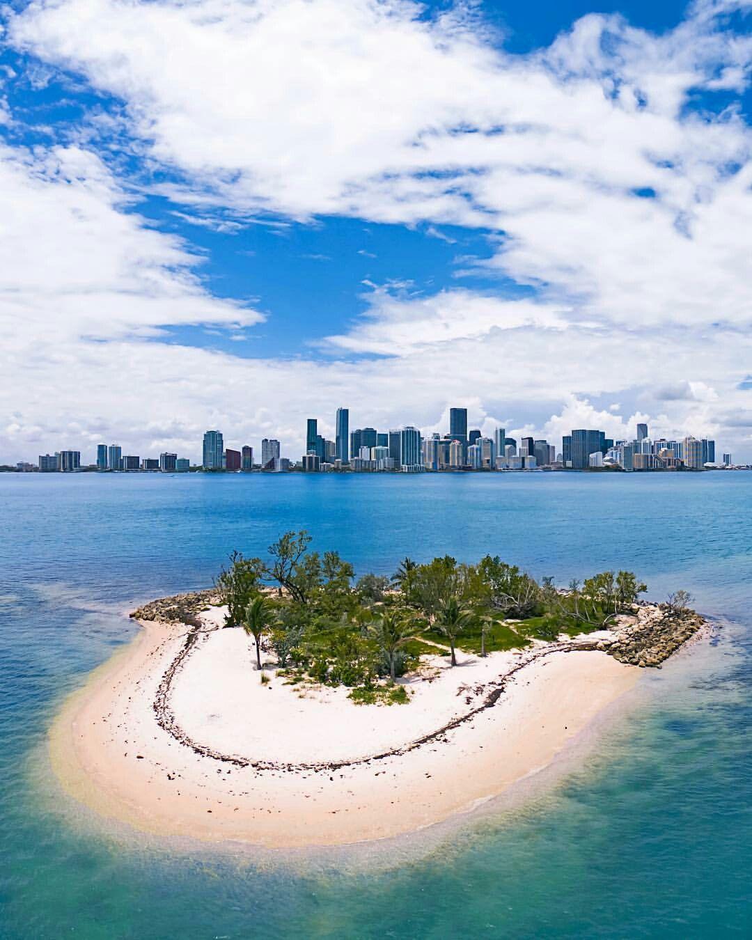 Deserted Island Beach: Beaches In The World, Miami