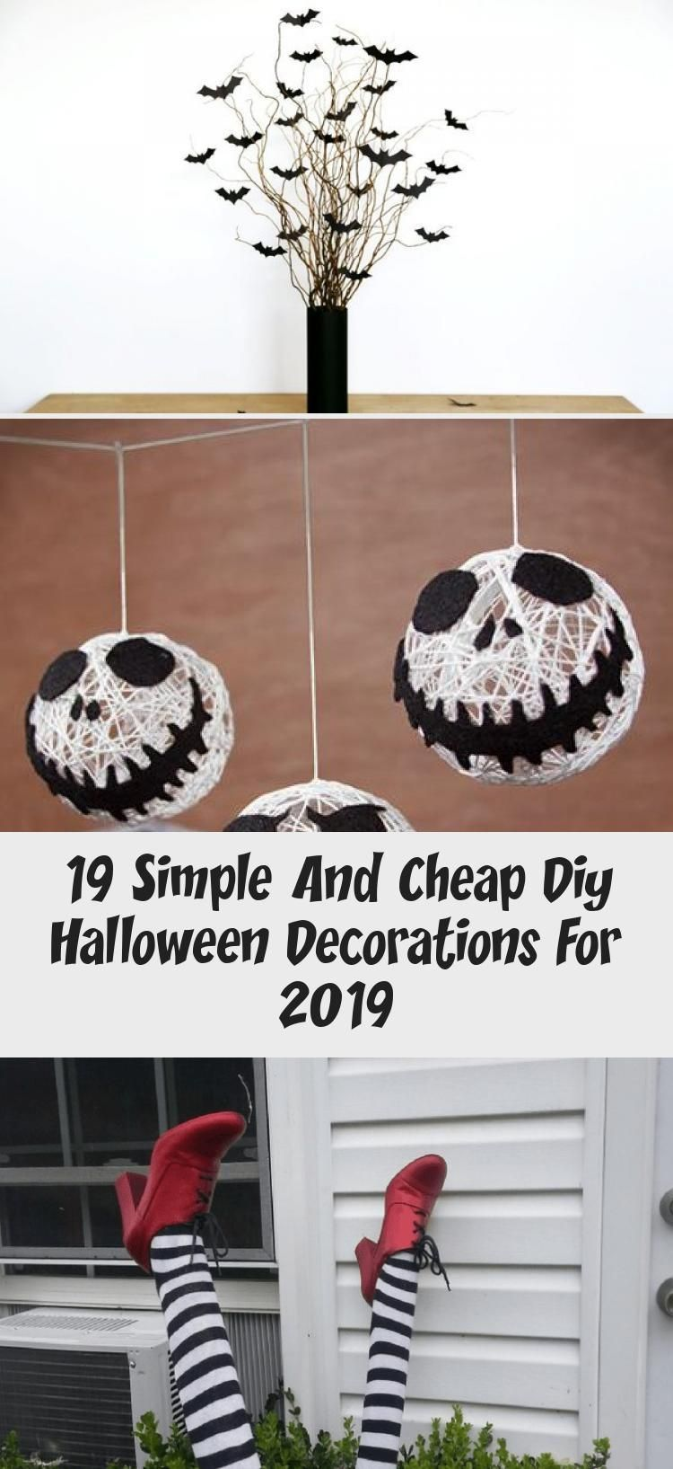 19 Simple And Cheap Diy Halloween Decorations For 2019 #cheapdiyhalloweendecorations cheap diy halloween decorations #Cutehalloweendecorations #halloweendecorationsGarage #halloweendecorationsOutdoor #Fiestahalloweendecorations #Scaryhalloweendecorations #cheapdiyhalloweendecorations