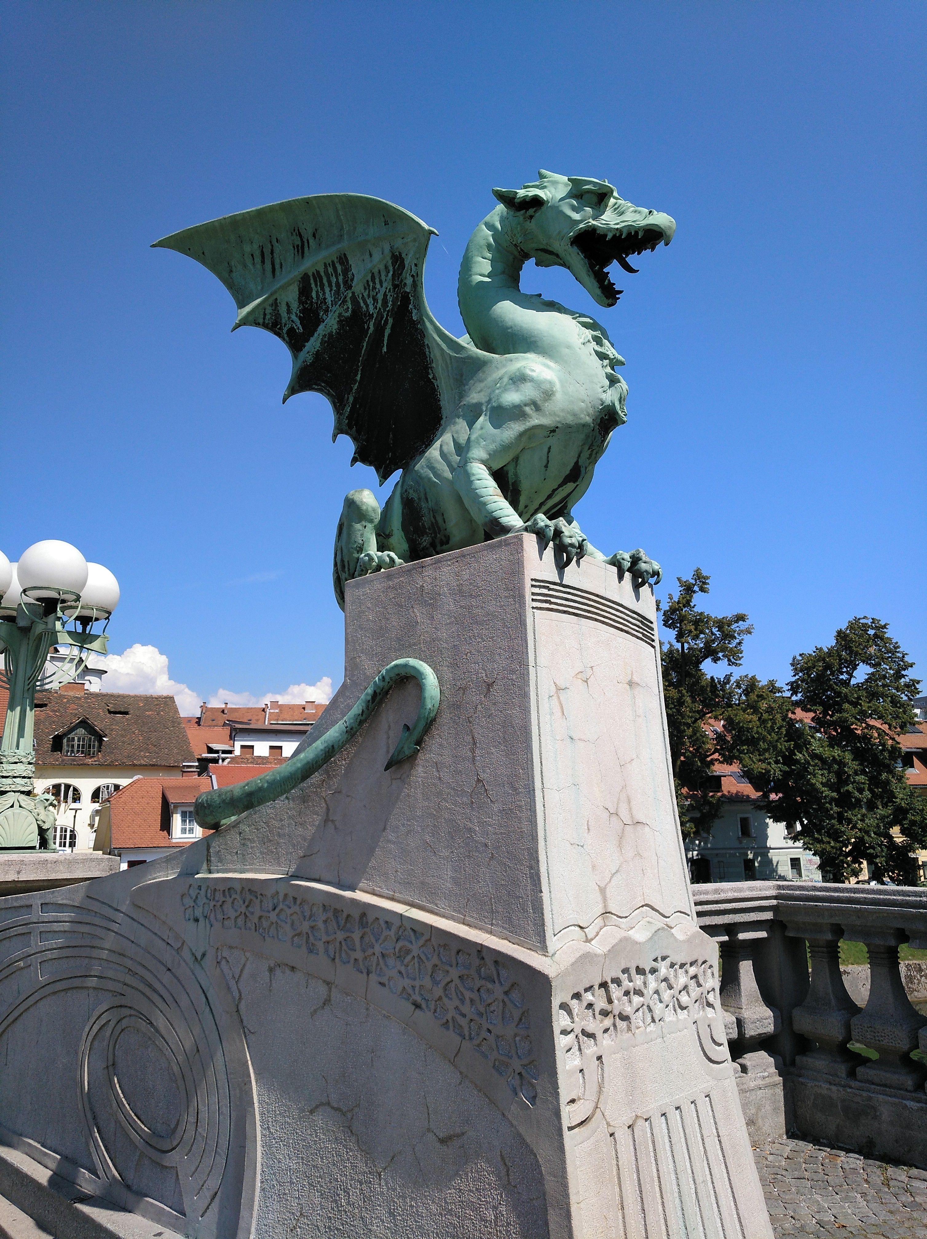 16 Puente De Los Dragones De Liubliana El Puente De Los Dragones