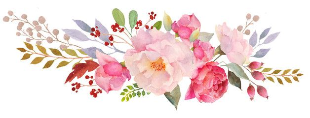 Flower Header Cliparts 2 628 X 240 With Images Floral