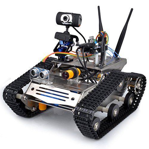 Wireless wifi robot car kit for arduino hd camera ds robot smart wireless wifi robot car kit for arduino hd camera ds robot smart educational robot kit malvernweather Choice Image