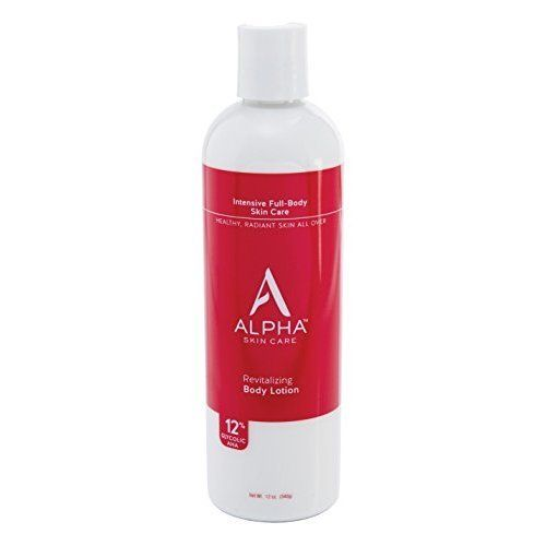 Alpha Skin Care Revitalizing Body Lotion With 12 Glycolic Aha 12 Ounc In 2020 Skin Care Lotions Body Lotion Lotion