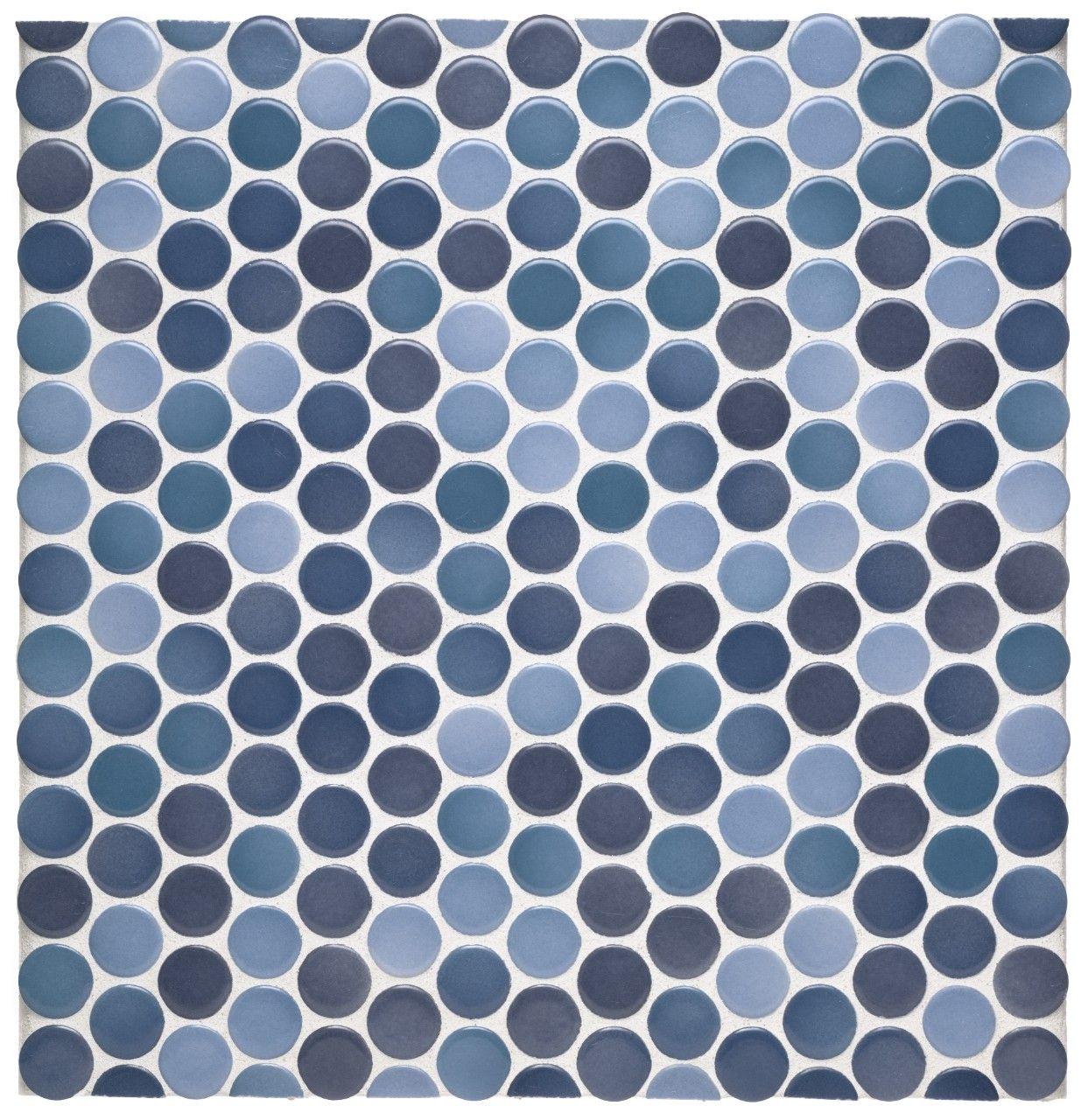 Circle Tiles Penny Tile Kitchen Collections Waterworks Backsplash Tile