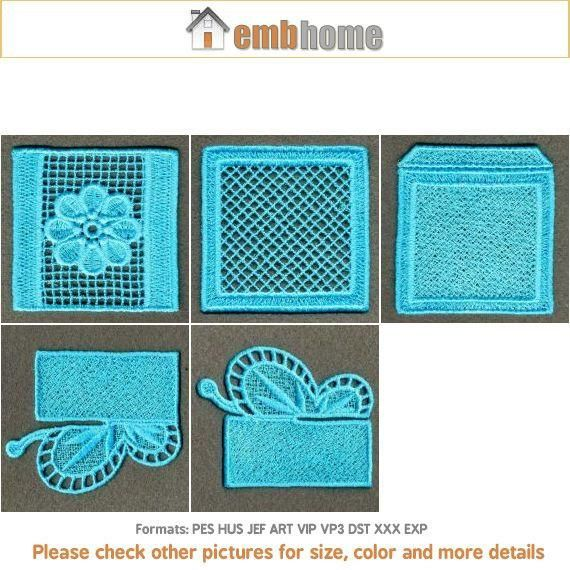 3D FSL Cross Gift Box Free Standing Lace Butterfly fiore