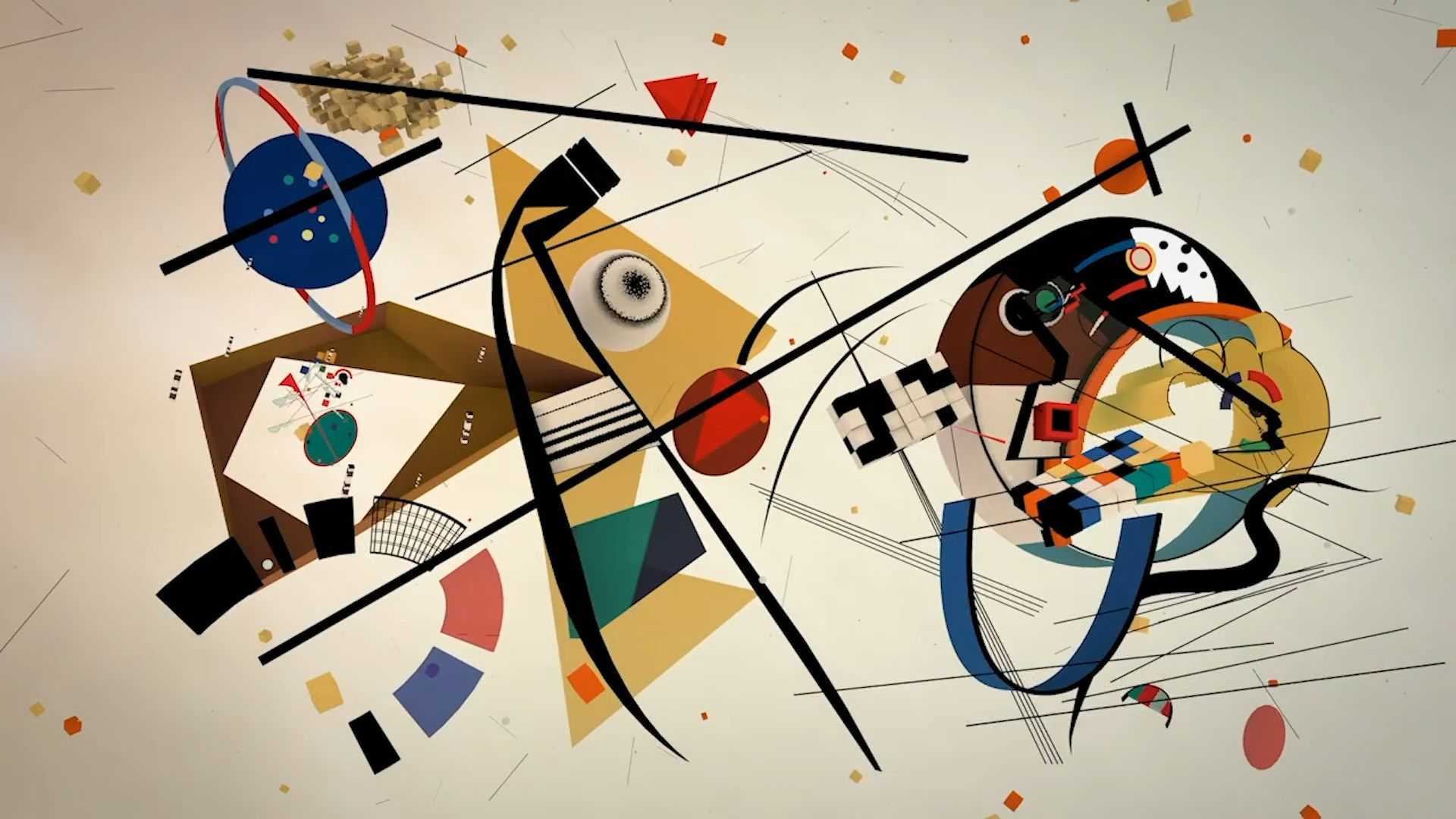 Wassily Kandinsky, the Master of abstraction, is believed to have had synaesthesia, a harmless condition that allows a person to appreciate sounds, colours or words with two or more senses simultaneously. 🎂🎉❤️ Happy Birthday Wassily Kandinsky (1866-1944). #BornOnThisDay #WassilyKandinsky #artistbirthday #modernart #abstractart #abstract #musiclover #kandinsky