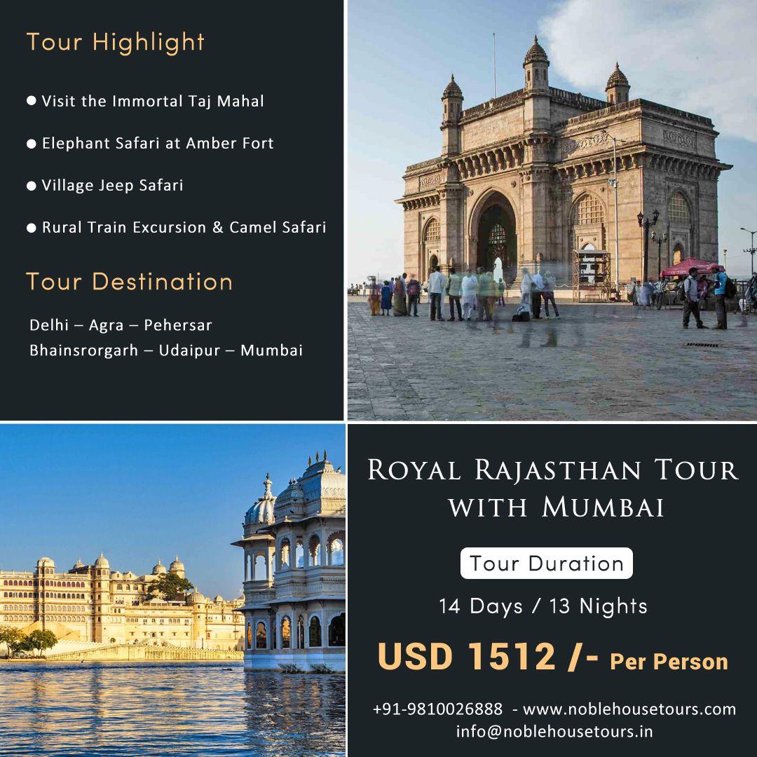 Rajasthan Tour With Mumbai India Tour Mumbai Tour Safari Tour