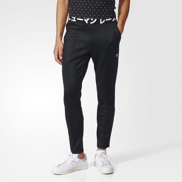 d1c3c20140885 Adidas Pharrell Williams Hu Human Race Tapered Black Track Pants Large   adidas  Jogging