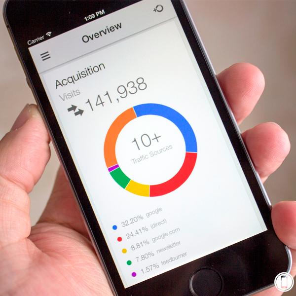 Nuevo App Google Analytics para Dispositivos iOS #Apple