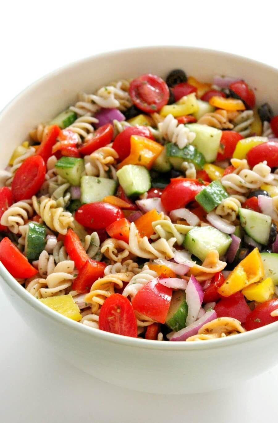 Cold Italian Pasta Salad (GlutenFree, Vegan, AllergyFree