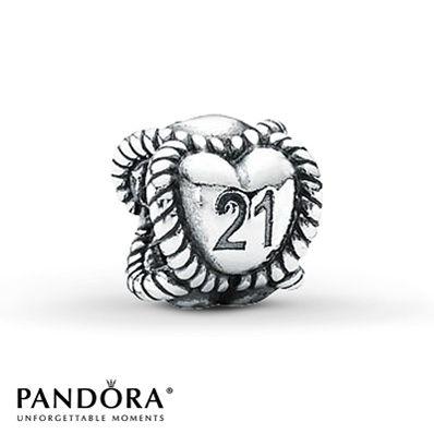 For Turning 21 Silver Pandora Charms Pandora Charms Pandora Jewelry