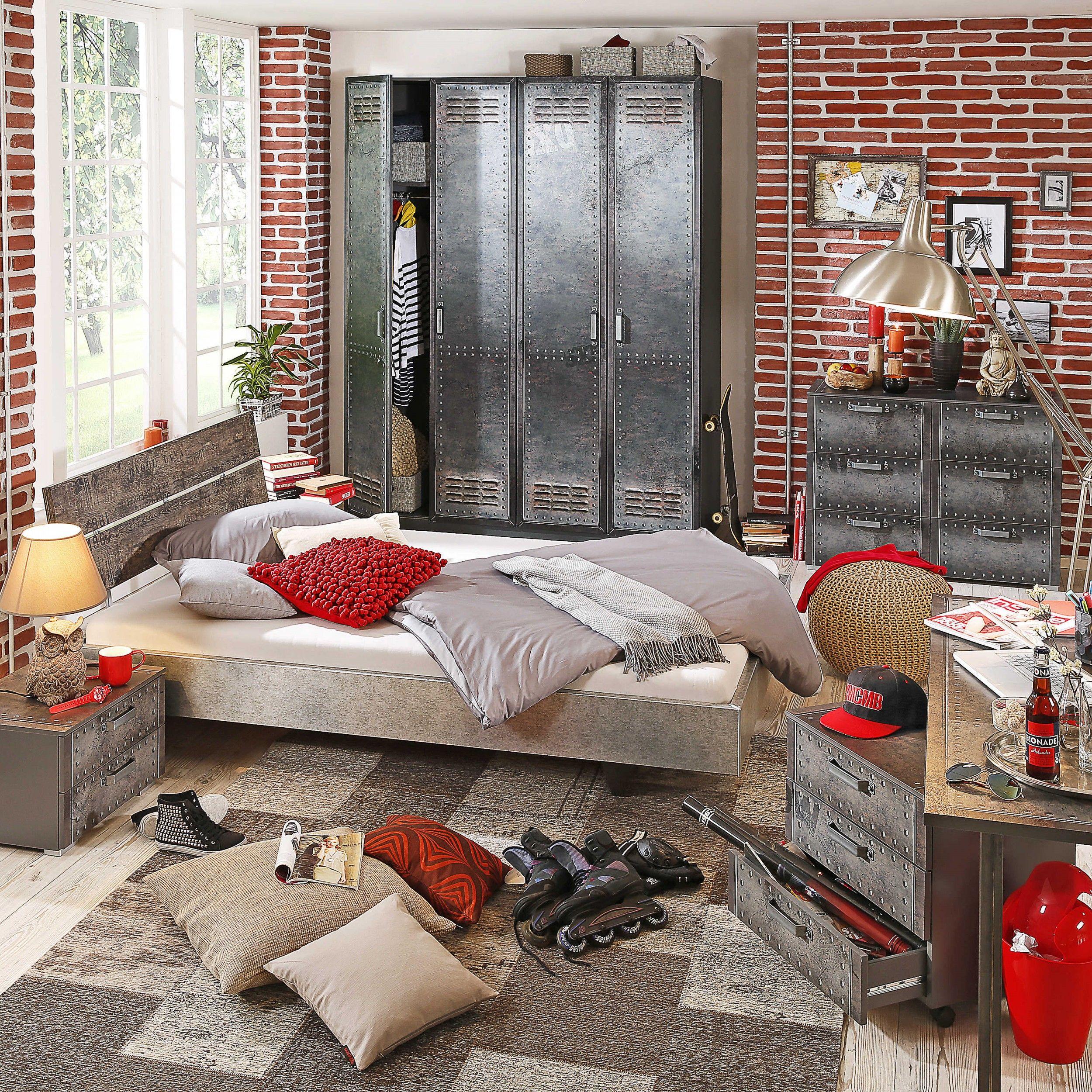 Kleiderschrank Workbase, 181 x 223 cm Kinderzimmer