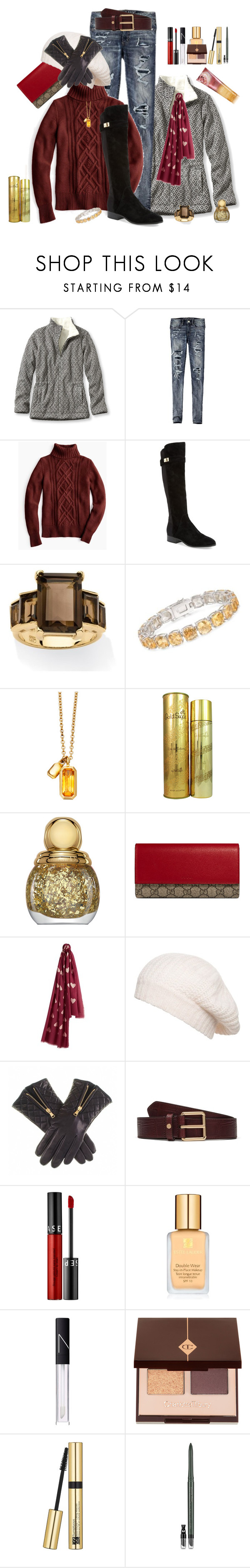 """""""Milk Chocolate"""" by winscotthk ❤ liked on Polyvore featuring L.L.Bean, American Eagle Outfitters, J.Crew, Nicole Miller, Palm Beach Jewelry, Ross-Simons, Astley Clarke, Pink Sugar, Christian Dior and Gucci"""