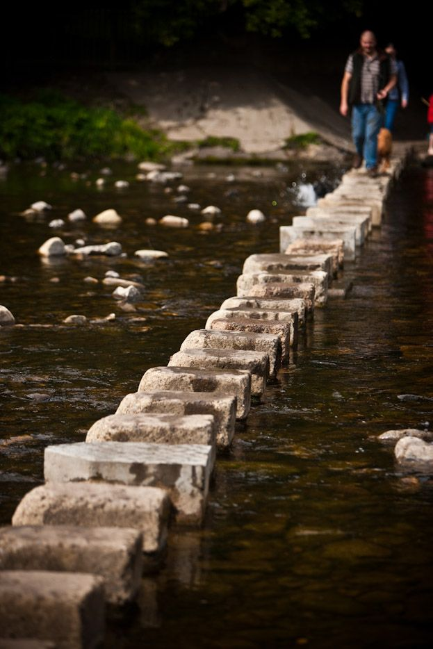 The Stepping Stones Across The River Wear In Stanhope Weardale In The North Pennines Durham England Moving To England Amazing Destinations