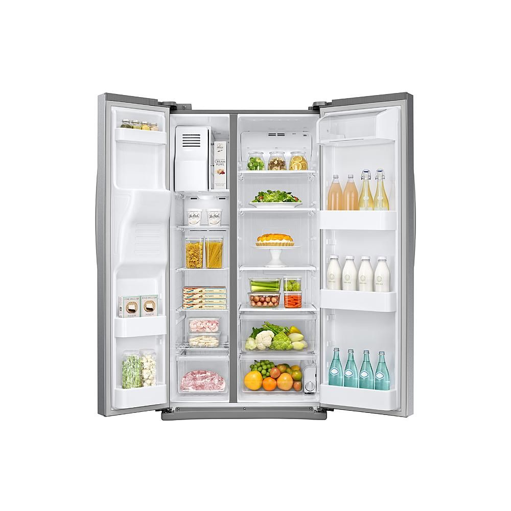 The samsung rsjd sidebyside refrigerator has a beautiful and
