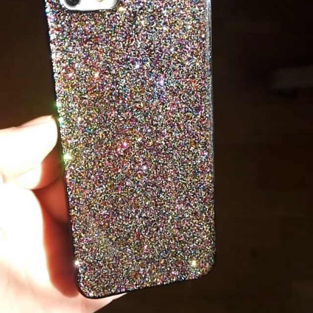 Sooooo sparkle!! #sparkle #sparkly #glittercover #glittery #realglitter #iphonecase #iphone6scase #phonecases