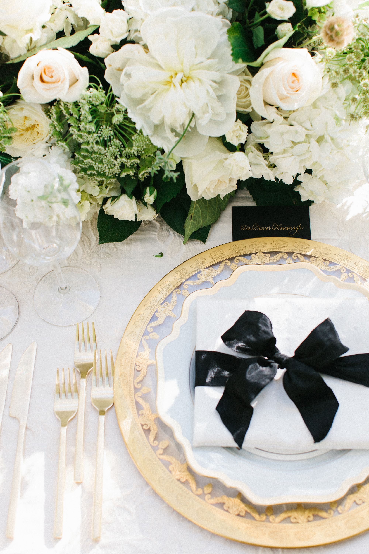 Table Setting Decor | Design & Production: Kristin Banta Events ...