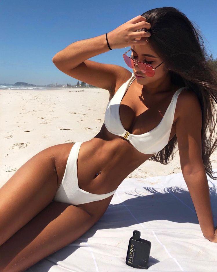 44a950a28db5e Bikini Workout, Sexy Beach Wear, Beach Babe, Bikini Set, Thong Bikini,
