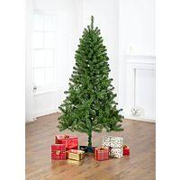 6ft 180cm Green Christmas Tree Un Lit Asda Direct 20 00 Real Christmas Tree Real Christmas Traditional Christmas Tree