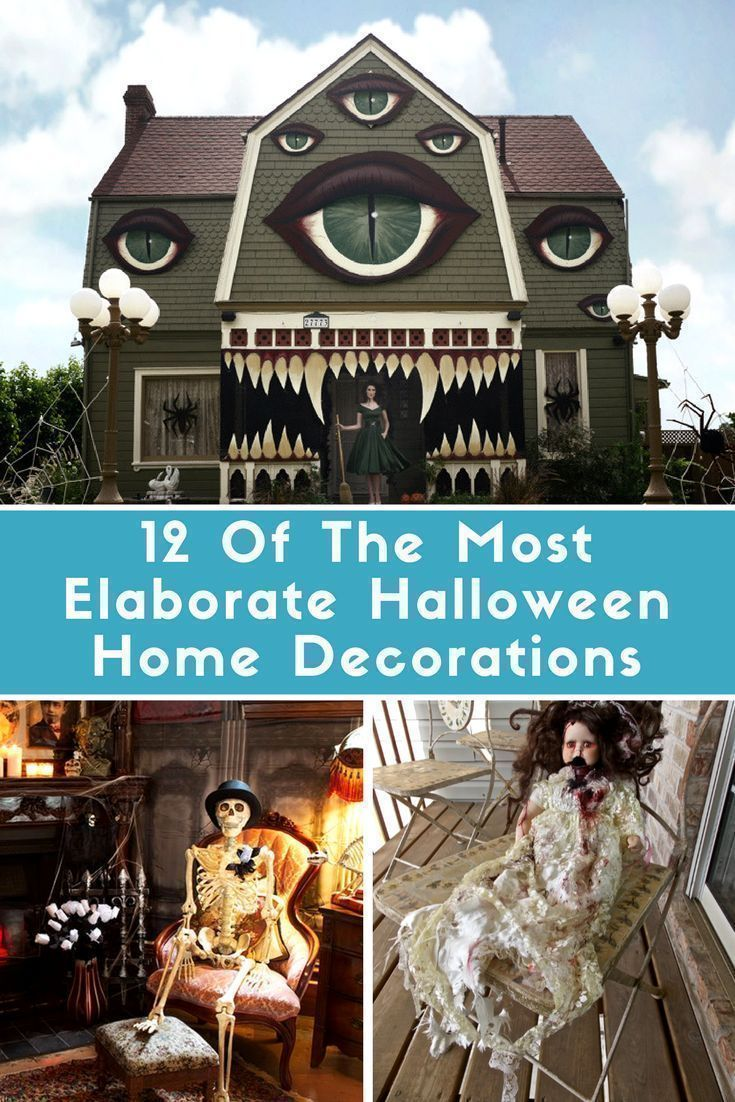 12 Of The Most Elaborate Halloween Home Decorations ...