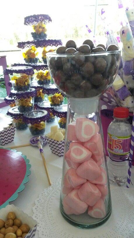 Chocoretas y bonbones de corazon globitozz decoracion