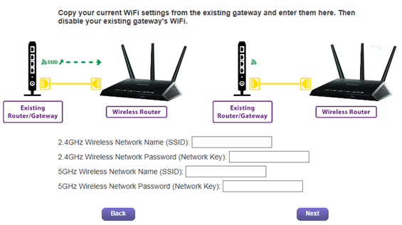how to add a router to an existing network