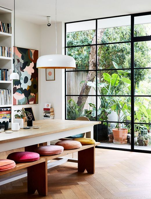 Top ten most loved homes of the design files australia   popular also  decor idea for stand alone benches it on table rh pinterest