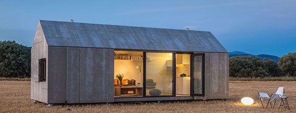 Jaloersmakend mooi duurzaam prefab huis in 1 dag te bouwen duurzaam thuis homey in 2018 - Maison modulaire espagnole ...