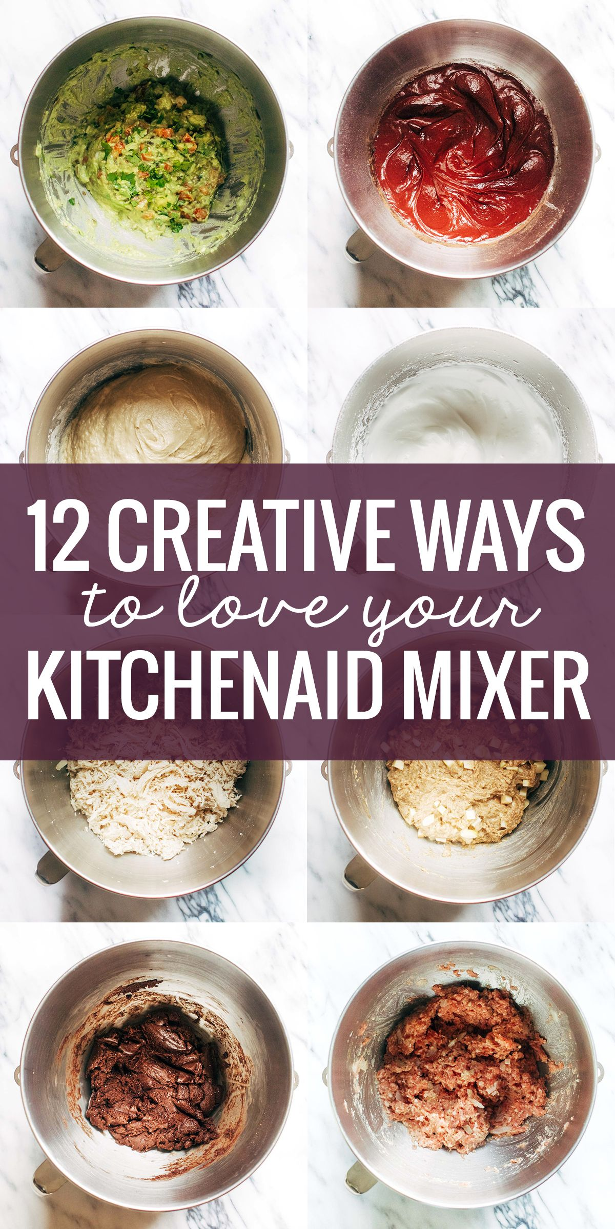 12 Creative Ways to Use A KitchenAid Mixer - Pinch of Yum