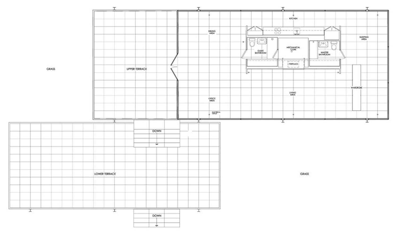 farnsworth house plan pesquisa do google architecture pinterest farnsworth house plan. Black Bedroom Furniture Sets. Home Design Ideas