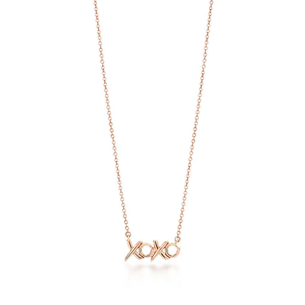 04b9b8bff4f60 xoxo necklace | My Style | Tiffany, co necklace, Tiffany necklace ...