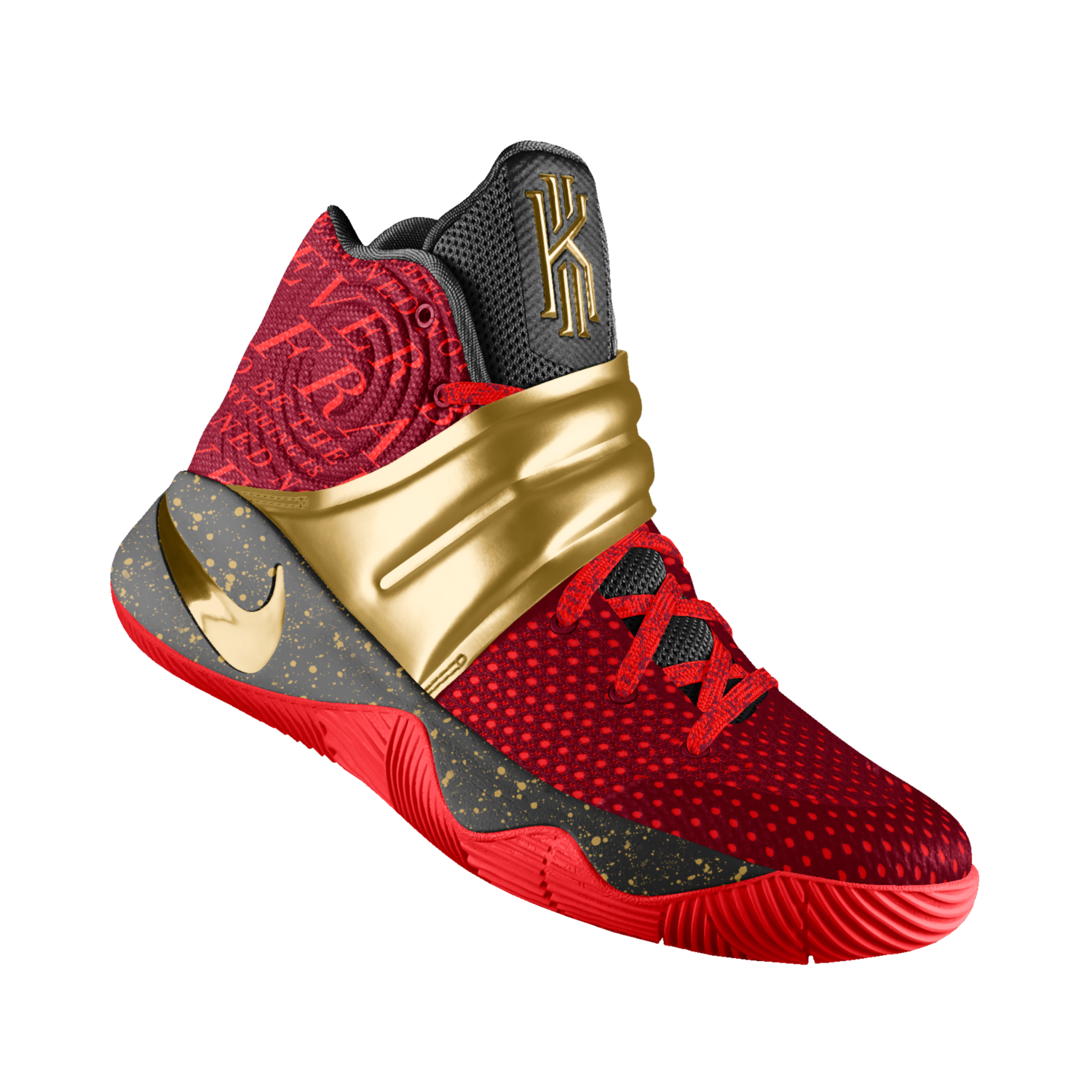 Kyrie 2 iD Men\u0027s Basketball Shoe 9