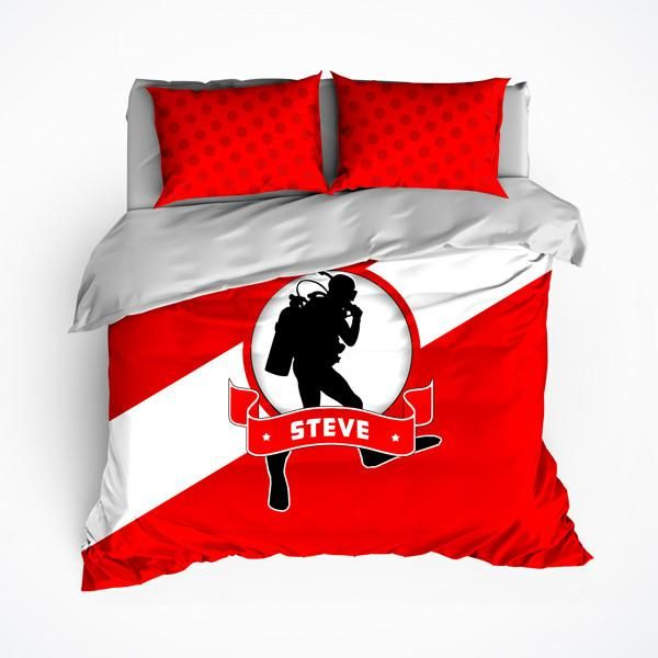 Scuba Diving Bedding