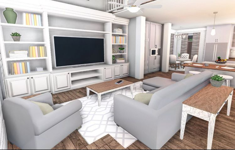 Bloxburg Living Room Home Building Design Bedroom House Plans Luxury House Plans