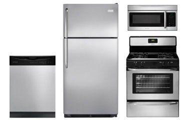 Frigidaire Stainless Steel Top Freezer Refrigerator Appliance ...