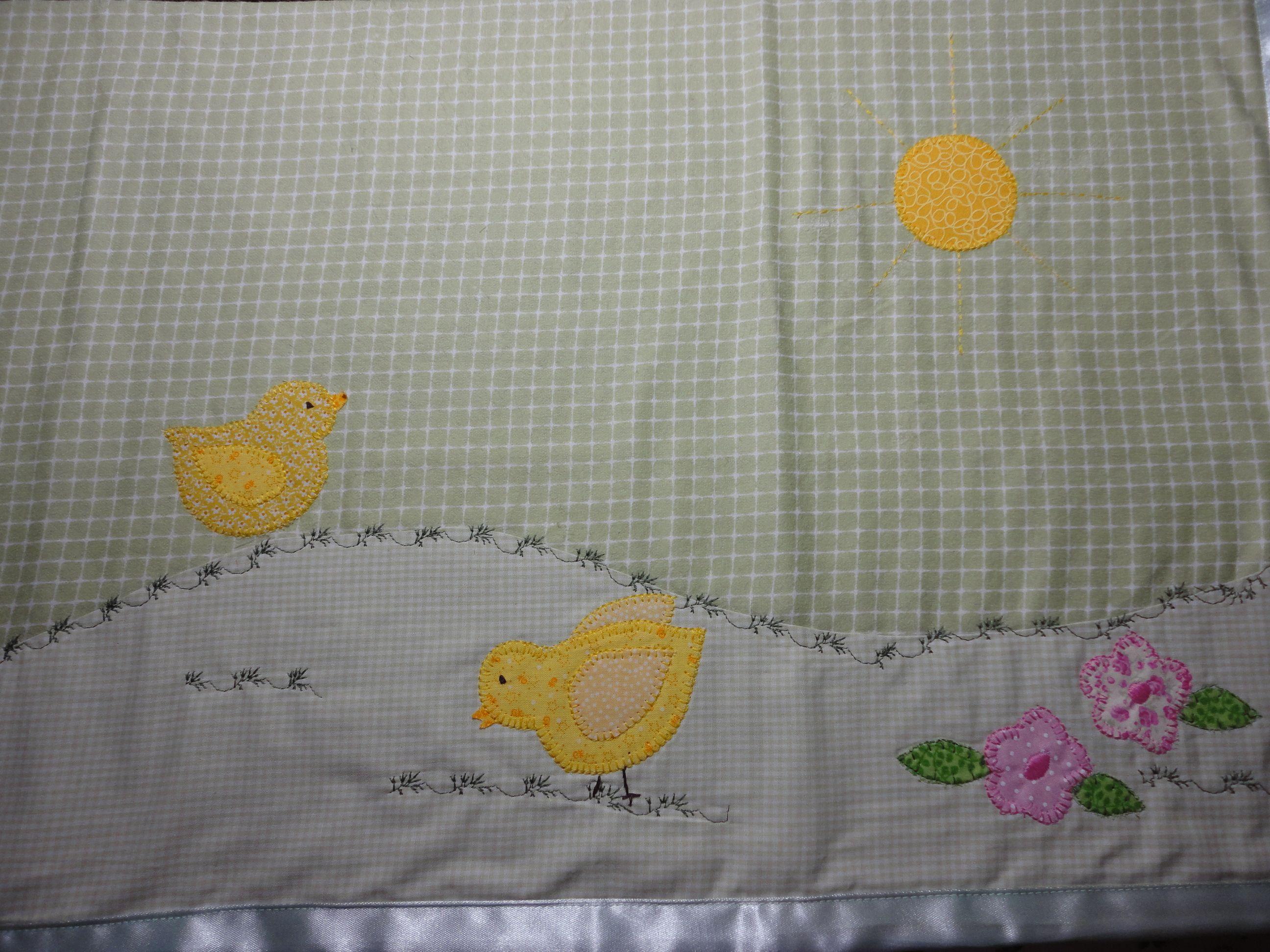 Enxoval de bebe - Cueiro Confeccionado por Maete Atelier www.facebook.com/maete.atelier teresi@globo.com