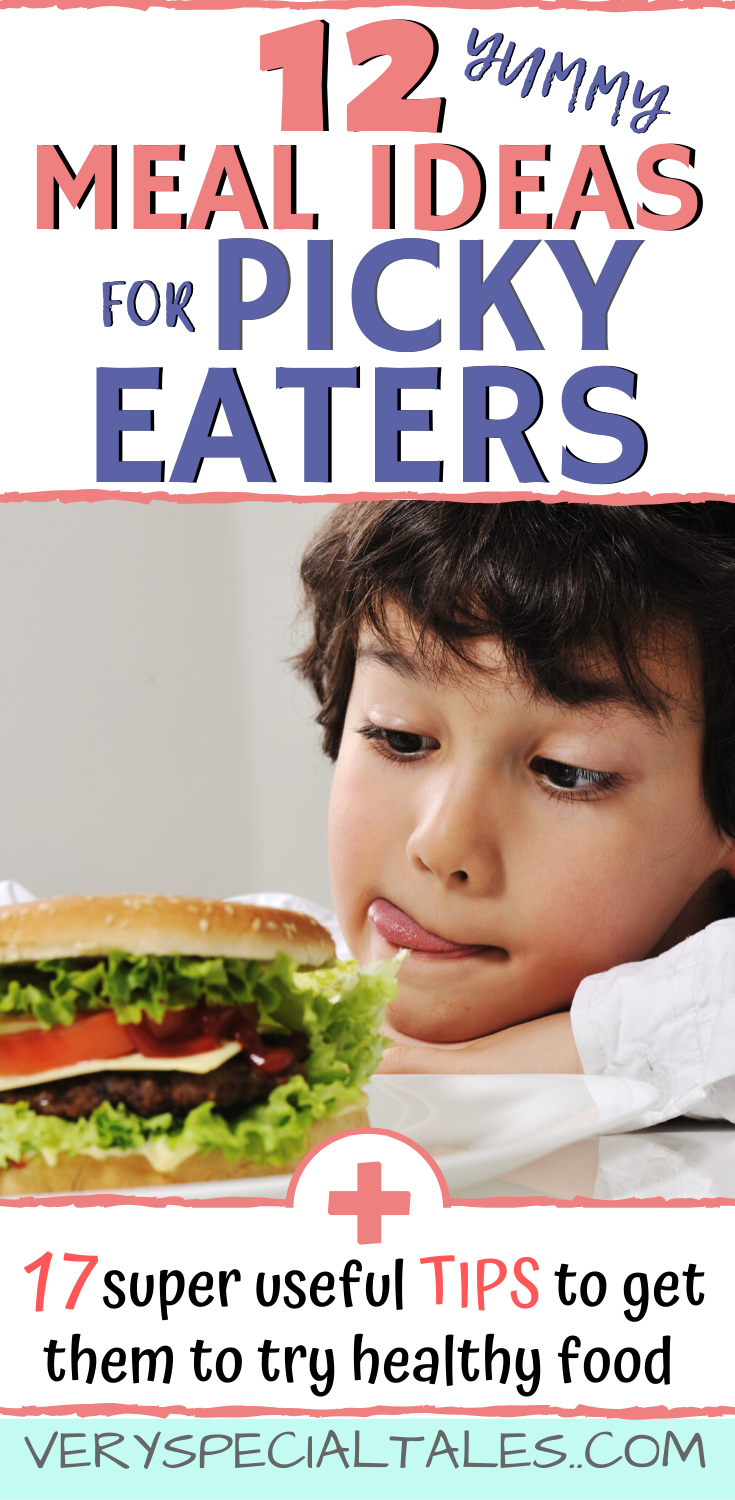 RECIPES for PICKY EATERS  17 Useful TIPS Toddlers to SchoolAge Kids 12 RECIPES  17 useful TIPS to help you get your picky eating kid to try new foods and veggies Great ti...