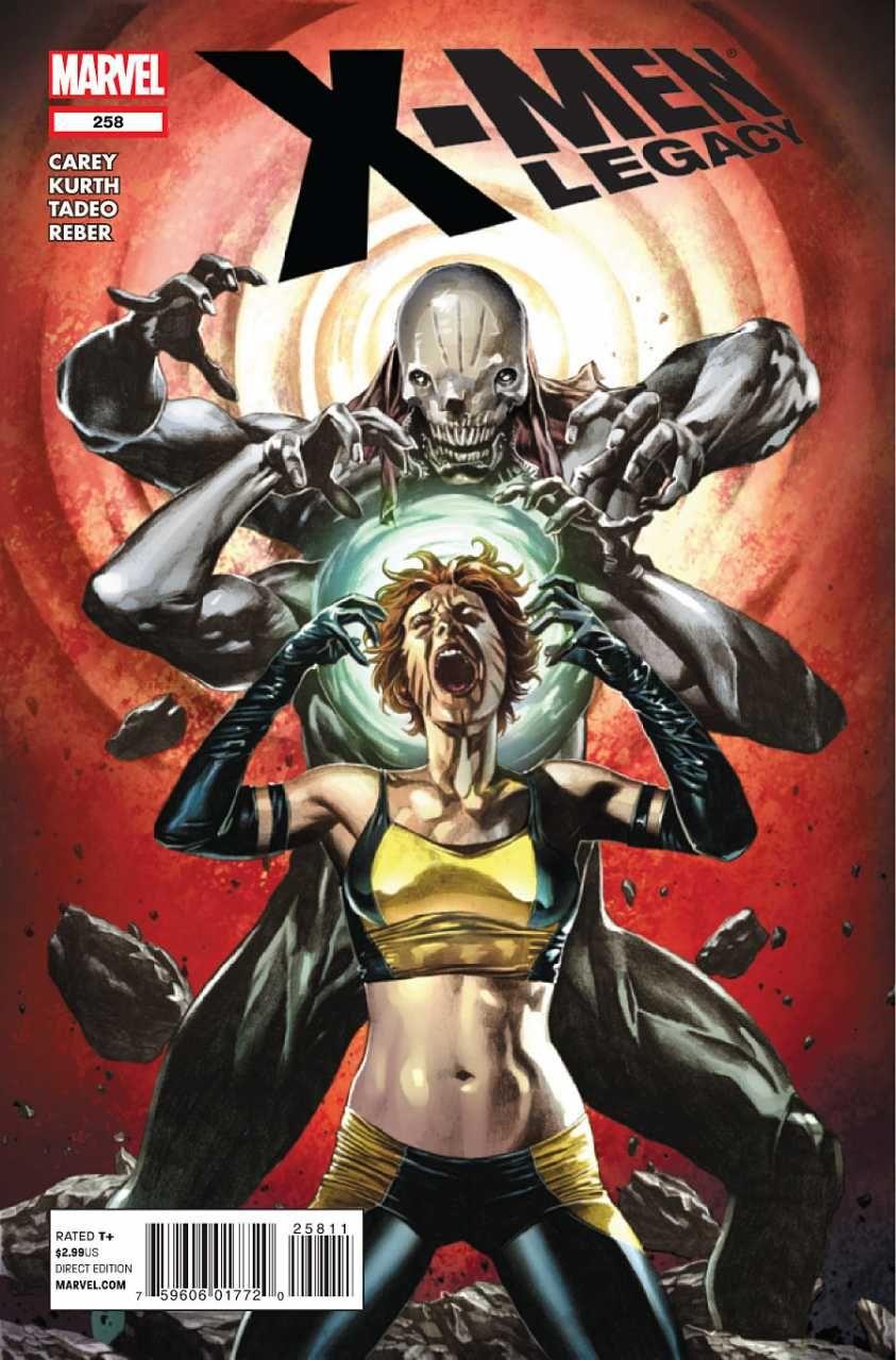 X-Men Legacy # 258 by Mico Suayan