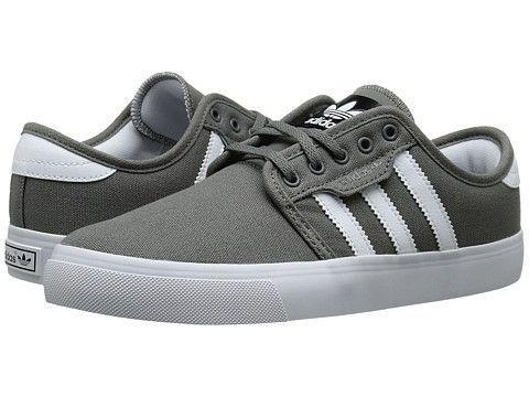 Adidas Men's Seeley Shoes - Mid Cinder / White / Black